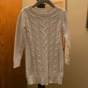 Girls Cable-knit Sweater Dress